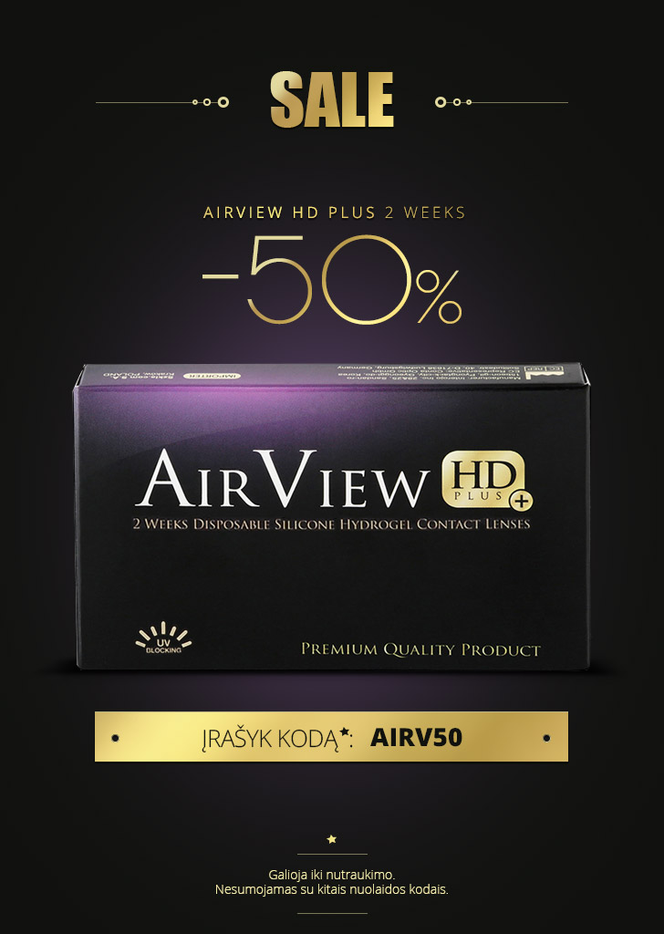 AirView HD Plus 2 Weeks -50%!