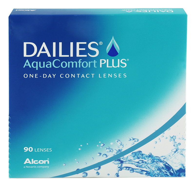DAILIES® AquaComfort Plus® 90 vnt.