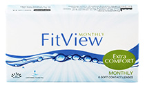FitView Monthly 6 vnt.