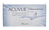 Acuvue® Oasys with Hydraclear® Plus 12 vnt + CashBack 3€ DOVANU! (perkant 2 pak.)