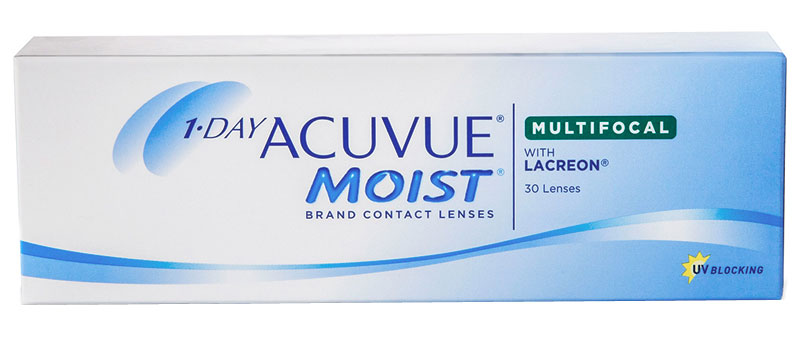 Acuvue® 1-Day Moist Multifocal 30 vnt.