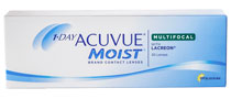 Acuvue 1-Day Moist Multifocal 30 vnt.