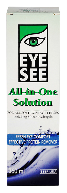 EYE SEE All-in-one Solution 360 ml