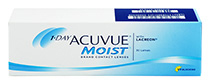 1-DAY ACUVUE® MOIST 30 vnt.