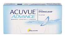 Acuvue Advance 6 vnt.