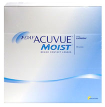 1-DAY ACUVUE® MOIST 180 vnt.