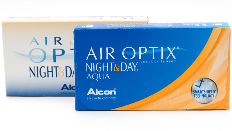 Air Optix® Night & Day® Aqua 6 vnt.