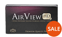 AirView HD Plus 2 weeks 6 vnt. + AKCIJA - 50% pigiau!