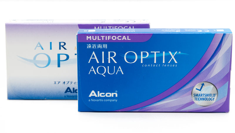 Air Optix® Aqua Multifocal 3 vnt.