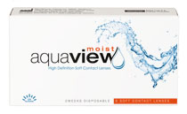 AquaView Moist 2 weeks 6 vnt.