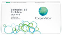 Biomedics 55 evolution™ - Minusinis stiprumas