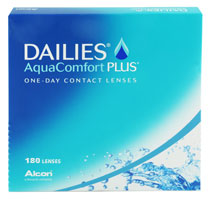 DAILIES® AquaComfort Plus® 180 vnt.