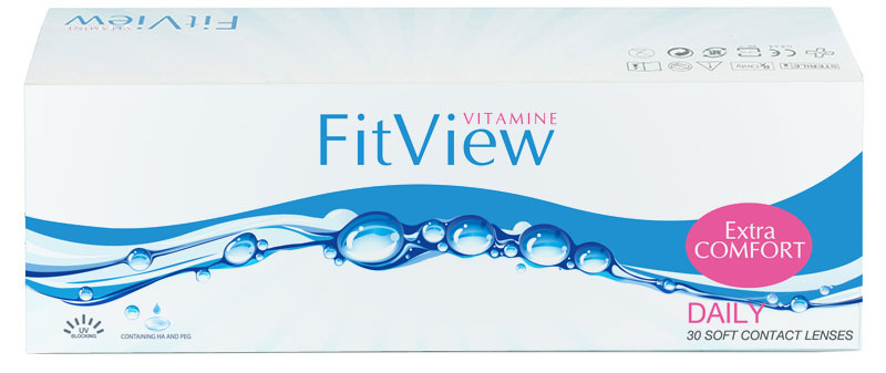 FitView Vitamine Daily 90 vnt.