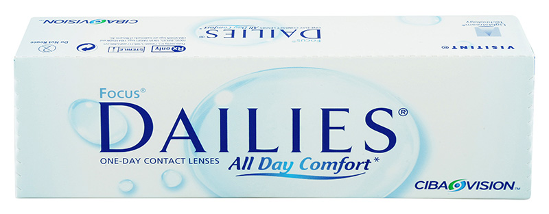 Focus® Dailies® All Day Comfort 30 vnt.