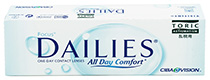 Focus Dailies All Day Comfort Toric 30 vnt.