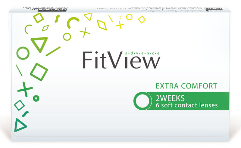 FitView Advance 2 weeks 6 vnt.