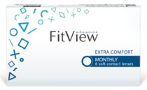FitView Advance Monthly 6 vnt.