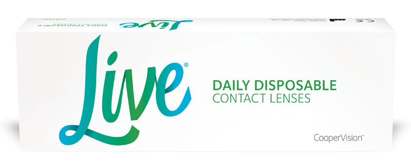 Live Daily Disposable 30 vnt.