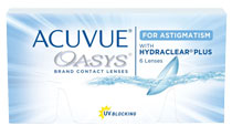 Acuvue Oasys for Astigmatism™ 6 vnt.