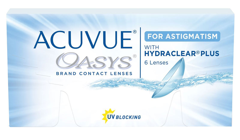 Acuvue Oasys for Astigmatism 6 vnt.