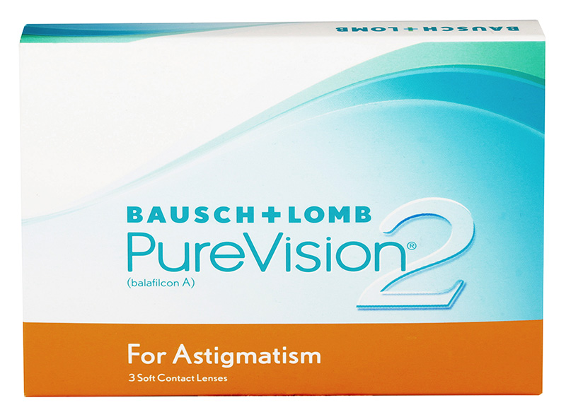 PureVision 2 HD for Astigmatism 3 vnt.