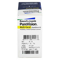 PureVision Multifocal 6 vnt.