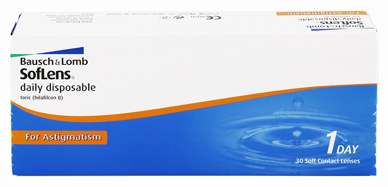 SofLens® Daily Disposable Toric for Astigmatism 30 vnt.