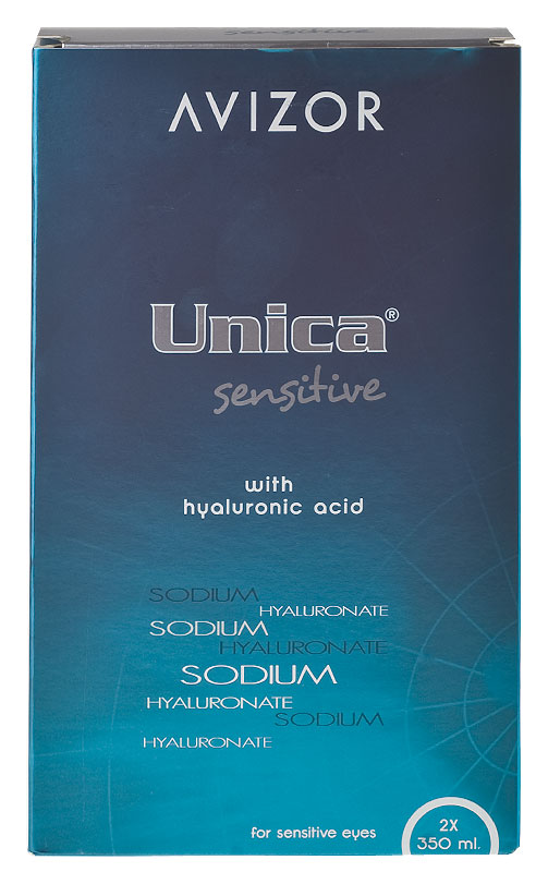 Avizor Unica Sensitive Duo Pack 2 x 350 ml