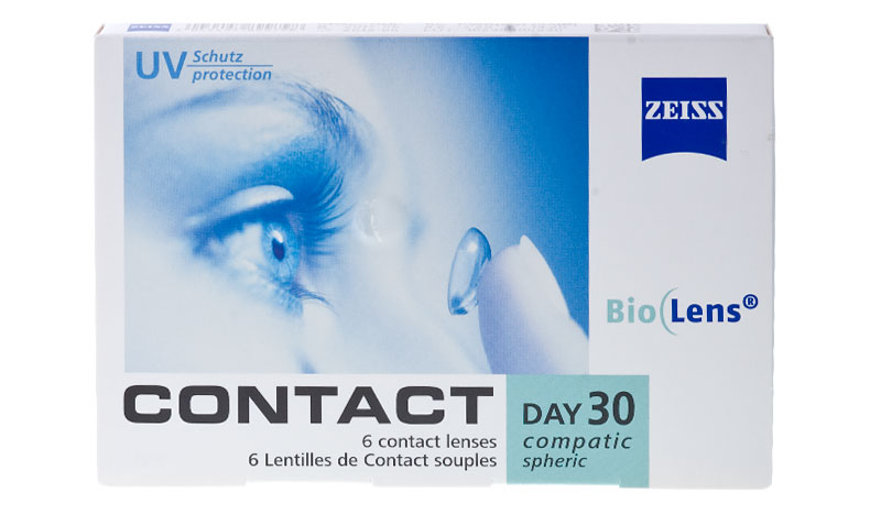 Zeiss Contact DAY30 Compatic 6 vnt.